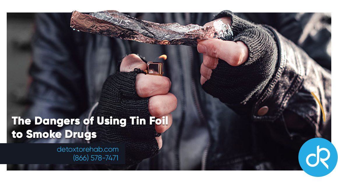 The Dangers of Using Tin Foil to Smoke Drugs Header Image
