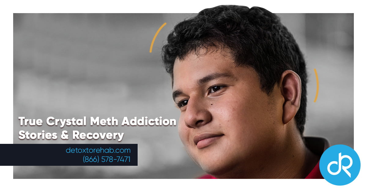 True Crystal Meth Addiction Stories & Recovery Header Image