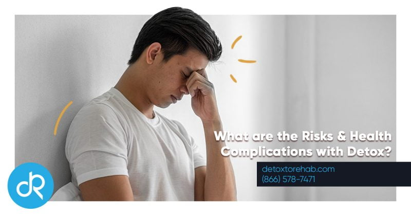 What are the Risks & Health Complications with Detox header Image
